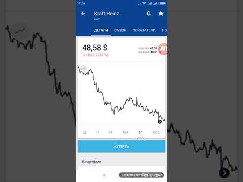 The Kraft Heinz Company (KHC) - акции, прогнозы, анализ. Тинькофф Инвестиции.
