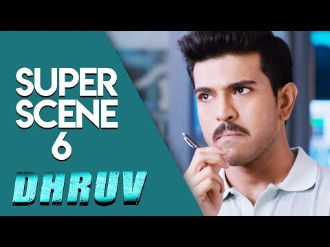 Dhruv -  Super Scene 6 | Hindi Dubbed | Ram Charan | Arvind Swamy | Rakul Preet Singh
