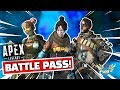 NEW SEASON 1 BATTLEPASS In Apex Legends DETAILS! Wild Frontier!