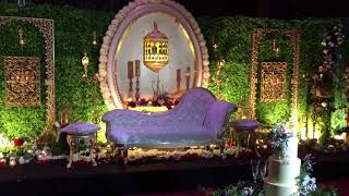 Enchanted Garden wedding stage Farah & Diluk