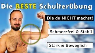 Die BESTE Übung gegen Schulterschmerzen die du NICHT MACHST!   Clubbell Schultertraining 1/3