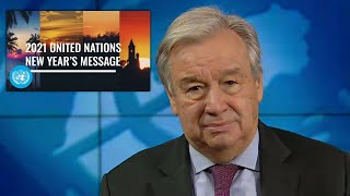 New Year's 2021- United Nations Secretary-General, António Guterres