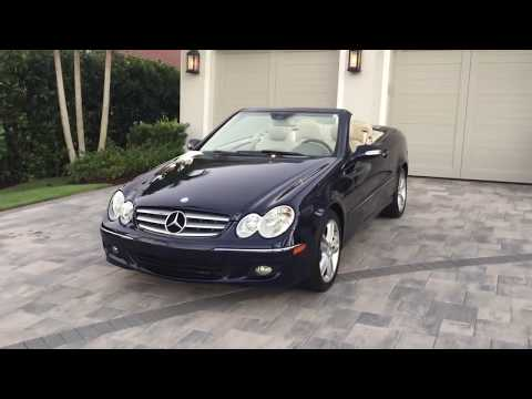 2008 Mercedes Benz CLK 350 Convertible Review and Test Drive by Bill - Auto Europa Naples