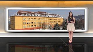 preview picture of video 'Zprávy Gymnázia Příbram - únor 2015'