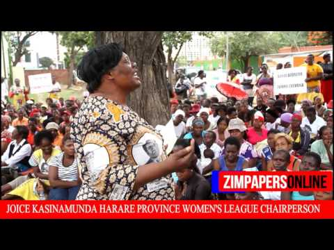 WOMEN'S  LEAGUE DEMO AGAINST SANDI MOYO AND SARAH MAHOKA