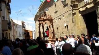preview picture of video 'Entrada de San Juanillo en Guadalupe. Fiestas San Juan Evangelista Huete -Cuenca- 2012'
