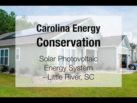 This week at Carolina Energy Conservation, we completed an install for a Solar PV Energy System in Little River, SC. If you would like more information about solar energy, please call (843)748-0295