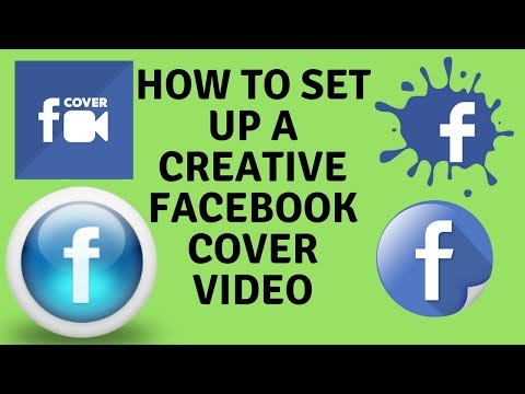 How to make facebook cover video 2018