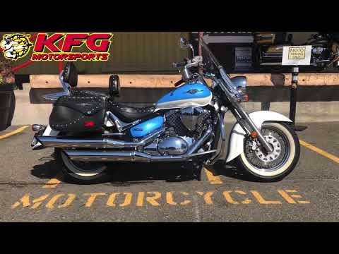 2009 Suzuki Boulevard C50 in Auburn, Washington - Video 1