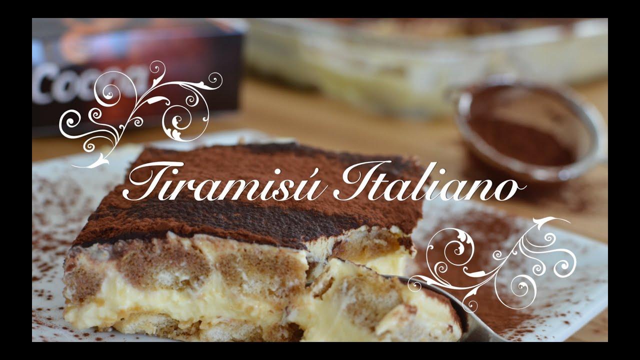 Tiramisu Italiano casero | Tiramisu Casero | Receta Tiramisu Italiano | Como hacer Tiramisu