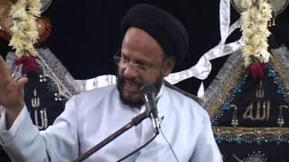preview picture of video 'Maulana Sayyed Mohammad Zaki Baqri [Topic: Ghaflat] - Majalis 5 (Malad-Mumbai, Moharram 1435 AH)'