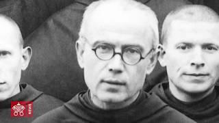 Il martirio di san Massimiliano Kolbe nel braccio della morte di Auschwitz il 14 agosto 1941