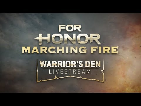 For Honor: Warrior's Den LIVESTREAM Oct. 18 2018 | Ubisoft [NA]