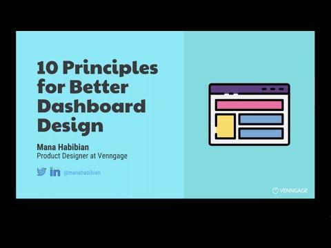 10 Principles for Better Dashboard Design | DZone.com Webinar