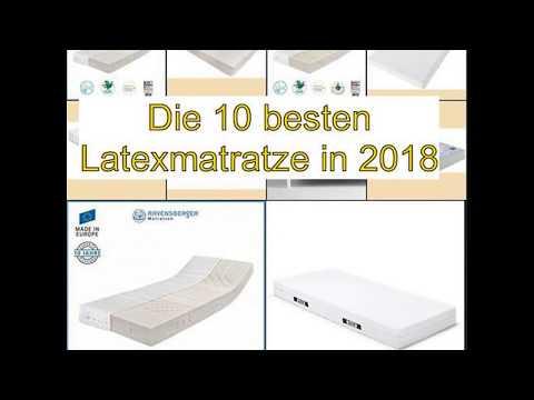 Die 10 besten Latexmatratze in 2018
