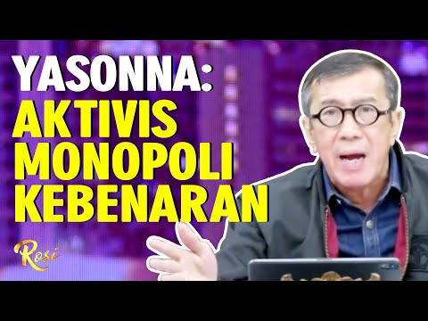 tak percaya mk aktivis monopoli kebenaran - rosi