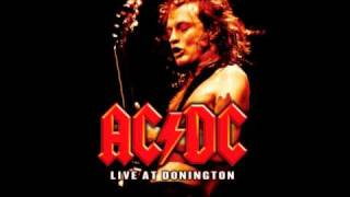 AC/DC - Moneytalks Live backing track