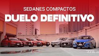 DUELO DEFINITIVO: comparamos TODOS los sedanes compactos a la venta en México