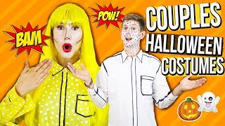 Easy & Affordable Couples Halloween Costumes