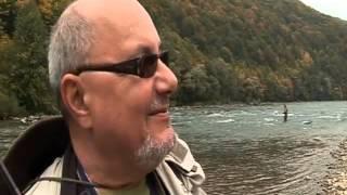 Fliegenfischen streng geheim Nymphen, gute in Dunajec Fluss in Polen