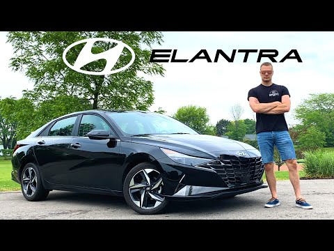 The 2021 Hyundai Elantra Is Shockingly Luxurious And Well-Equipped