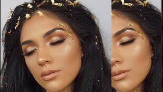 Greek Goddess Halloween Makeup- Last Minute Costume