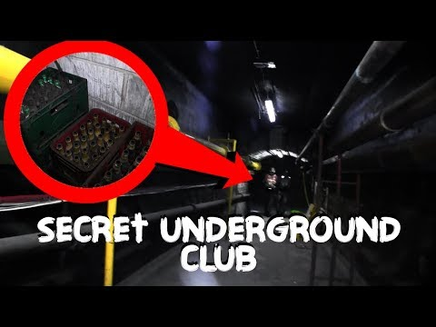 Found Secret Gentlemen's Club Under Manchester Train Station