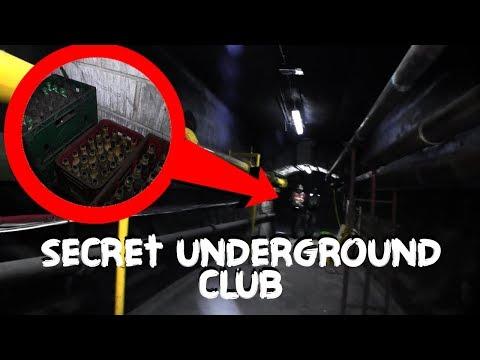 Found Secret Gentlemen's Club Under Manchester Train Station