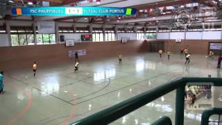preview picture of video 'FSC Philippsburg - FC Portus'