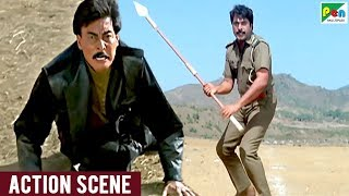Mammootty Fight Scene With Danny | Dhartiputra Best Scene | Rishi Kapoor, Mammootty, Jaya Prada