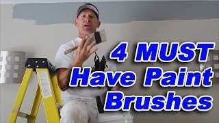 4 Brushes Every Painter Needs