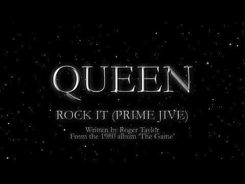 , title : 'Queen - Rock It (Prime Jive) (Official Lyric Video)'