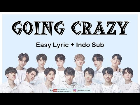 Easy Lyric TREASURE 13 - GOING CRAZY By GOMAWO [Indo Sub]