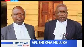 Jaji Lucy atoa agizo la kumregesha  kazini  Muluka ambaye alikuwa katibu mkuu wa chama cha ANC