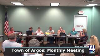 Argos Town Council Meeting - 6-5-19
