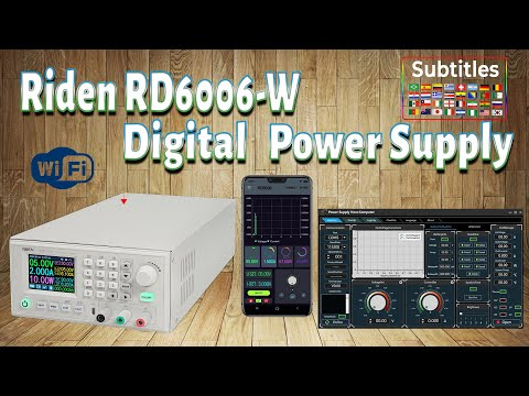 Unboxing Alimentatore Digitale regolabile Riden RD6006-W | Digital Power Supply