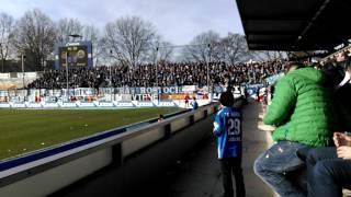 Hansa Rostock Fangesang 25.02.17 Auswärtsspiel FSV Frankfurt