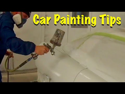 How To Spray Car Start To Finish ( Sealer, Base, Clear) Tips