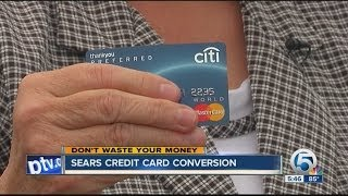 Sears credit card conversion
