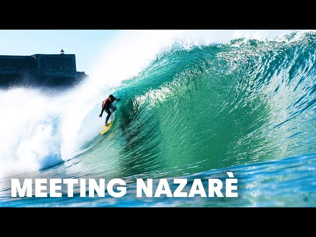 The world's best surfers meet at Nazaré.
