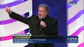 #VVS17 - Bannon on Corker, Trump, and troops
