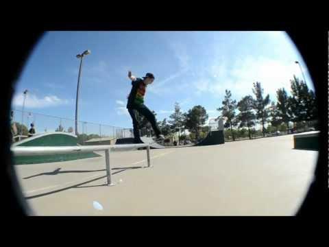 Skateboarding at Queen Creek Skatepark.