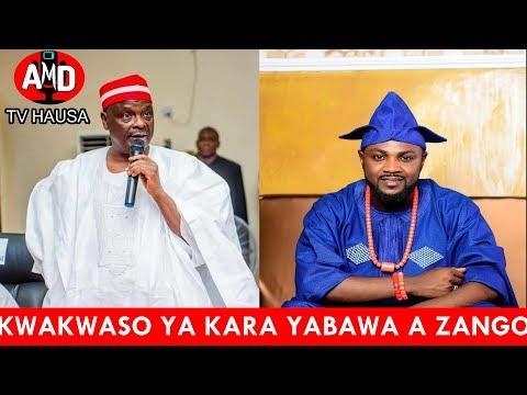 Kwankwaso Ya Kara Jinjinawa Adam A Zango
