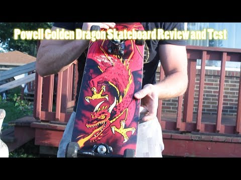 Powell Golden Dragon Skateboard Review and Test