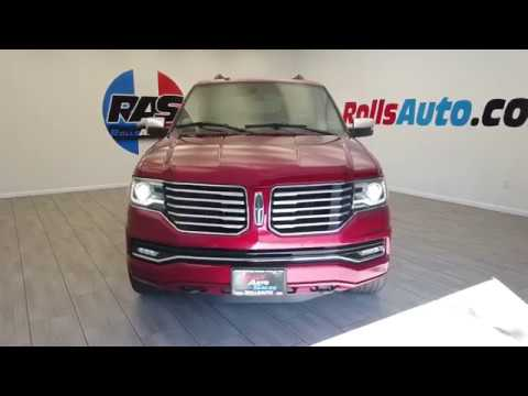 Pre-Owned 2015 Lincoln Navigator Utility 4D Select 4WD V6 Turbo