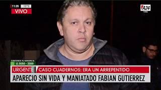 El hombre era buscado desde el jueves  y fue hallado luego de la confesión de tres de los detenidos.