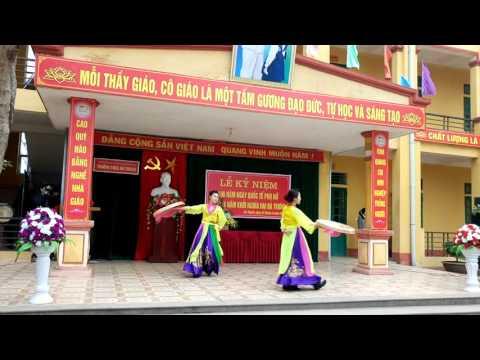 Múa Nét Việt - giáo viên trường THCS Hà Thạch- tx Phú Thọ - tỉnh Phú Thọ