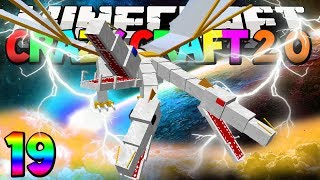 """Minecraft Mods Crazy Craft 2.0 """"THE KING DRAGON BOSS!!!"""" Modded Survival #19 w/Lachlan"""