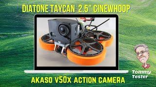 FPV Cinewhoop | Diatone Taycan C25 | Akaso V50X | Minnesota