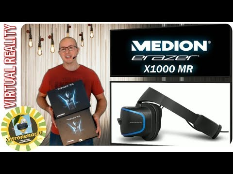 Medion X1000 MR  [Unboxing] [Windows Mixed Reality] [Virtual Reality] [Deutsch]